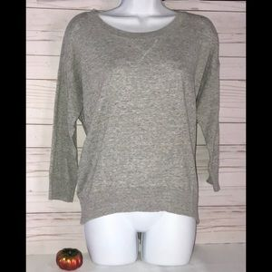 JCP 3/4 Sleeve Scoop Neck Pullover Sweater /L 👚
